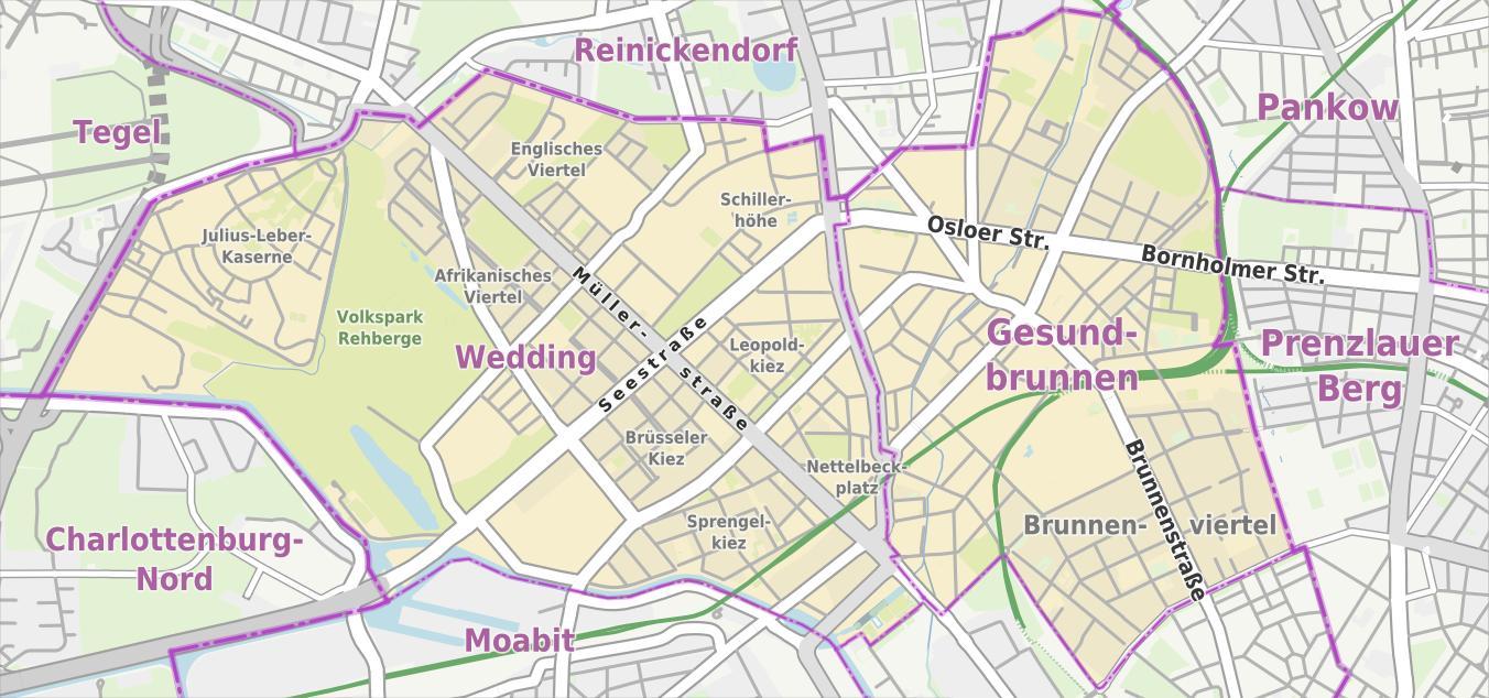 berlin térkép Esküvői berlin térkép   Berlin wedding térkép (Németország) berlin térkép