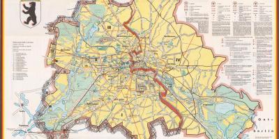 Berlin Terkep Terkepek Berlin Nemetorszag